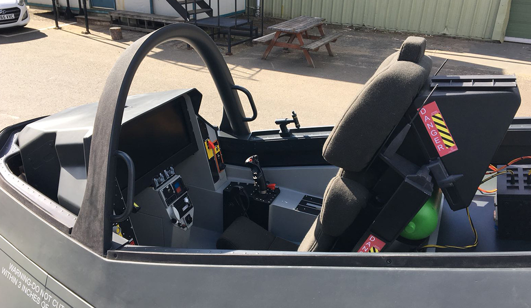Terminator: Dark Fate - F35 cockpit