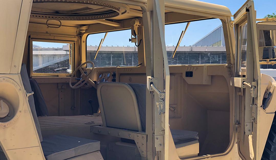 Terminator: Dark Fate - Humvee